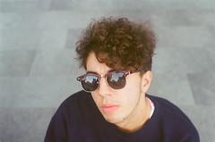 16420021 (paulasangu) Tags: people portrait sunglasses boy zenital barcelona bcn analog analogue anaogphotography film filmphotography filmisnotdead