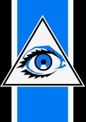 Auge Gott- Eye god (Marco Braun) Tags: blau blue bleu auge eye ojo gott dieux god rechteck triangle triangel dreieck