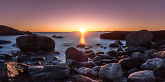 Another Day Gone By (Kurt Evensen) Tags: lee cold sunset beach moutmarka winter vivid tjøme norway sea sky shore le longexposure vestfold smooth
