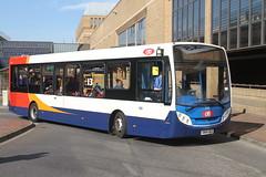 CAMBUS 37228 SN64OLG PETERBOROUGH 110417 (DavidsTransportPix) Tags: sn64olg alexanderdennis e200 enviro200 singledeckerbus cambus stagecoachinpeterborough citi