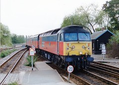 "47771 ""Heaton Depot"" (Sparegang) Tags: 47771 47503 477 class47 brushtype4 sulzer res railexpresssystem westernregion 1999 exeterstdavids"