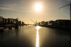 Quiz: What river runs though Dublin city ? (A Costigan) Tags: liffey dublin samuelbeckettbridge