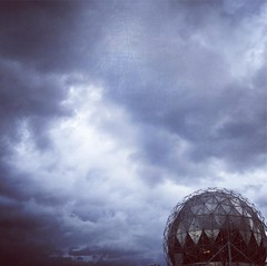 Fore. #vancouver #telusworldofscience #clouds #expo86 #canada