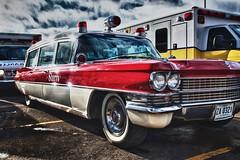 1963 Cadillac Superior Ambulance (ronmcmanus1) Tags: auto outdoors stock ambulance vintage ems cadillac