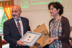 Arnaldo Porro e Paola Antinori