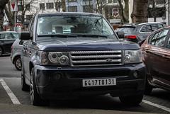 Tunisia Remade - Land Rover Range Rover Sport HSE (PrincepsLS) Tags: tunisia tunisian remade plates germany düsseldorf spotting land rover range sport hse