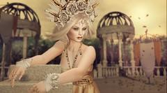 Golden Rose (Duchess Flux) Tags: zenith weloveroleplay astralia seasonsstory mystic catwa collabor88 glamaffair zibska 22769 jian secondlife fantasy sl