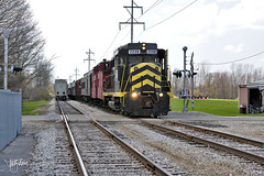 Easter Train (Troy Strane) Tags: littleriver indiana northeastern railroad train passenger quincy michigan easter old road nyc 2230 gp30