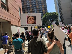 Superior Genetitc, Bannon sign, Tax March, Downtown Los Angeles, California, USA (gruntzooki) Tags: california cali cal ca sign signs dtla downtown losangeles trumpism theresistance taxmarch steve bannon