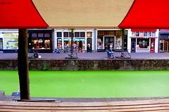 Green Water (Eddy Allart) Tags: gracht canal delft holland holanda markt verde