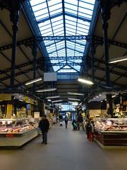 Old parisian covered market architecture (Jeanne Menjoulet) Tags: parisian architecture marchédelachapelle paris coveredmarket