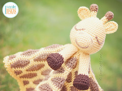 Rusty the Giraffe Crochet Security Blanket Pattern by IraRott (Ira Rott) Tags: crochetblanket securityblanket lovey girffepattern crochetgiraffe stuffie amigurumi baby toy handmade babyshowergift