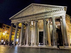 Phanteon di notte (ioriogiovanni10) Tags: capitale rome goodnight roma phanteon canon notte
