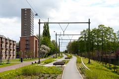 Utrecht Highline (davidvankeulen) Tags: europe europa utrecht provincieutrecht stadutrecht oosterspoorbaan viaduct viaduc utrechthighline highline straat street stad city stadt ville davidvankeulen davidvankeulennl davidcvankeulen urbandc