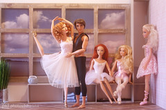 with a little help from a friend (photos4dreams) Tags: ballerinasp4d dress barbie mattel doll toy photos4dreams p4d photos4dreamz barbies girl play fashion fashionistas outfit kleider mode puppenstube tabletopphotography bilitis hamilton soft focus ballett ballet dancer dancers tänzerinnen tänzerin ballerina degas bokeh softlens romantic ballethallp4d cateblanchett puppe movie film stepmother stiefmutter tremaine faceup makeup dollmakeupartist cinderella ooak oneofakind upgrade dolldesigner design custom repaint