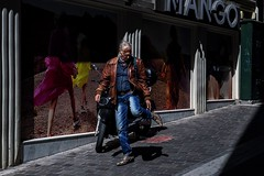Man, go! (stromin.alex) Tags: society dynamic athens city photojournalism documentary streetphotography life street