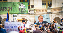 2017.04.15 #TaxMarch Washington, DC USA 02316 (tedeytan) Tags: pennsylvaniaavenue resistance taxmarch taxmarchdc taxmarcdc trumpchicken trumpinternationalhotel donaldtrump protest uscapitol washington dc unitedstates geo:city=washington camera:make=sony exif:make=sony exif:model=ilce6300 geo:state=dc geo:country=unitedstates camera:model=ilce6300 exif:isospeed=100 exif:aperture=ƒ63 exif:lens=e18200mmf3563 exif:focallength=200mm