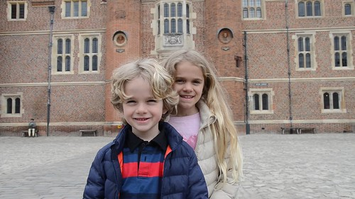 Interviewing The Kids At Hampton Court Palace