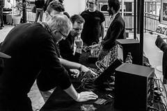 DSCF9193 (Seb v. Preussen) Tags: superbooth sooperbooth 2017 superbooth2017 berlin fez wuhlheide synthesizer schneidersladen modular doepfer blackandwhite blackwhite monochrome messe fujifilm fuji xe2 fujifilmxe2 xf27mm xf27mmmf28 27mmf28