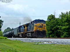 CSX K444 Wartrace,TN (Andrew Williams Photography) Tags: csx csxt cw44ac chattanooga cw449 cw408 emd es44ac et44ah es44ah es44c4 es40dc ethanol tennessee ge gevo yellow generalelectric railfan railfansofamerica rusty railfans rare frieght grey foamers farmersofamerica outdoor c408 retired summer june locomotive photographer