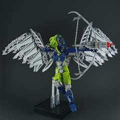 Hahli, Angel of the Oceans (Anthony (The Secret Walrus) Wilson) Tags: bionicle mahri toa revamp moc lego