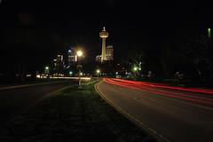"empty roads in Niagara Falls (Wil James) Tags: sonya99mk2 sony i sonyilca99m2 zeiss2470 sonya99iizeiss2470 niagarafalls lighttrails ""sonyflickraward"