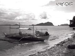 Dilumacad Island (A. K. Hombre) Tags: elnido palawan dilumacadisland mono beach boats water sea shore island