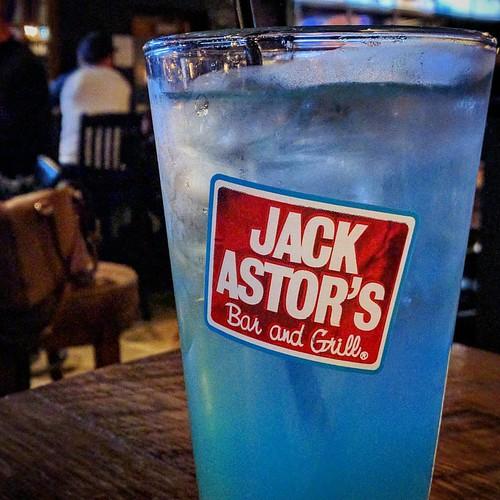 This drink is DEVINE! #BlueRaspberryLemonaide #JackAstors