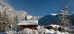 Les Covagnes (petrvujtech) Tags: francie panorama zima