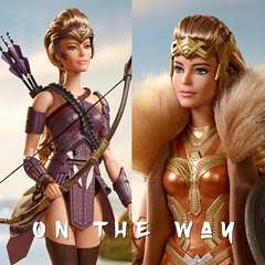 The Women of Paradise Island are... (Still Museum) Tags: dccomics hippolyta antiope doll barbie wonderwoman
