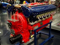 Allison V-1710 high-performance aero engine (mkk707) Tags: olympuse400 olympuszuikodigital25mm128 salzburg hangar7