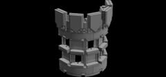 Castle Tower Doodles (Aanchir) Tags: lego castle tablescrap moc