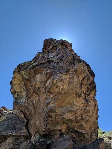Hidden Mountain, boulder