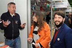 Mónica Oltra i Nacho Larraz en la caseta de Palmaret 29/04/17 - vesprada