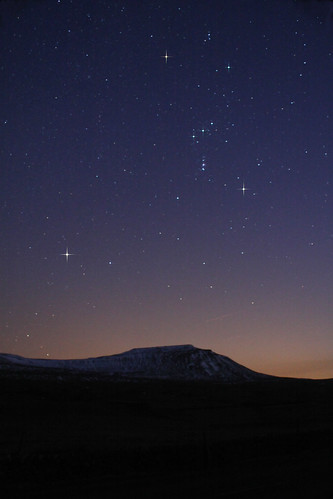 Orion over Ingleborough