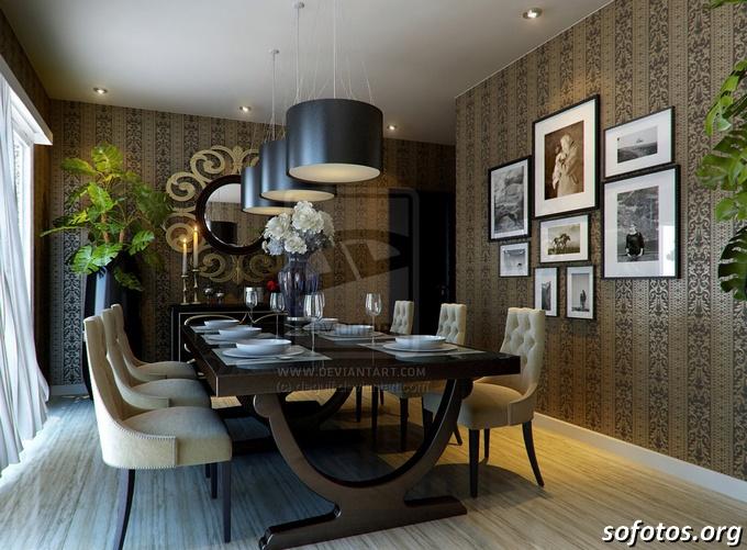 Salas de jantar decoradas (61)