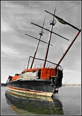 DSC_9854c wm (Susan Day-Jeschke) Tags: lake ontario water rust ship sails shipwreck anchor lakeontario masts jordanstation