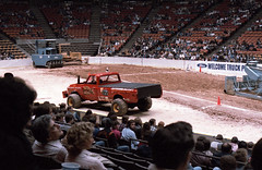 IMG_0045 (Nighthauler Photography) Tags: tractor cars truck pull meadowlands arena crushing bigfoot sled weight