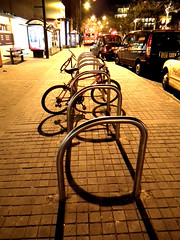 Bike Stands (2) (Russell Bloor) Tags: urban cities bikes bicycles
