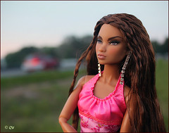 Colette (astramaore) Tags: beauty fashion angel toy lost glamour doll longhair tan chic royalty colette tanned wavyhair fulllips thickhair violeteyes fashionroyalty thickwavyhair