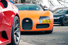 The JD Customs Crew (Protze | Automotive Photography) Tags: red orange cars photography photo spring airport photoshoot shots military wheels ferrari event 164 editing audi rims edition bugatti v10 f430 queensday supercars veyron weeze r8 wraped 2013 adv1 auotmotive