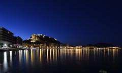 Preciosa Alicante (Fotomondeo) Tags: blue españa valencia night reflections lights luces spain nikon clear alicante bluehour reflejos sigma1020mm nikond7000