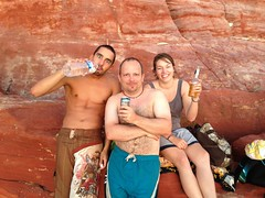 Group (fraggy) Tags: sunset red beach rocks buddy veronika finn capeleveque