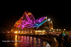 Vivid Sydney 2013 798 (David Kemlo) Tags: art festival night lights idea colours sydney vivid australia festivaloflight event nighttime lasers nsw colourful operahouse attraction lightfestival 2013 vividsydney nikond5000 sydneyharbourforeshore lightattraction canvasoflight spectacularlightdisplay cdavidkemlo