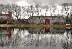 10449 (benbobjr) Tags: uk england reflection industry canal industrial unitedkingdom sheffield yorkshire warehouse southyorkshire britishwaterways sheffieldandtinsleycanal sheffieldcanal sheffieldandsouthyorkshirenavigation tinsleylock tinsleycanal sheffieldcanalco