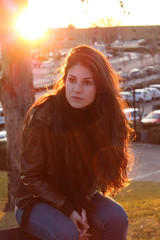 The First of What's to Come (Alexrodlopez) Tags: portrait sun sandra retrato flare
