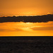 obscured by clouds (nosha) Tags: ocean sunset sea sky orange usa cloud seascape beautiful beauty yellow hawaii horizon