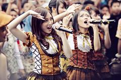 Naomi & Ayen (Taufiq Iskandar) Tags: canon stage idol jkt48 idolgrup