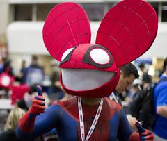 Spiderman Dead Mau5