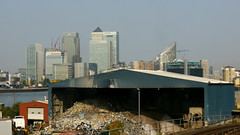 Recycling Docklands/Banking Crisis (DanMud) Tags: wharf rubbish canary dlr banks